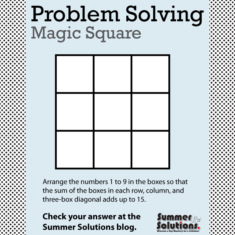 Magic Square Archives - Simple Solutions
