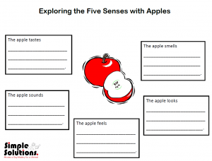 Five senses picture
