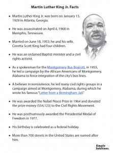 mlk-facts